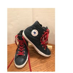 Converse leather sneaker